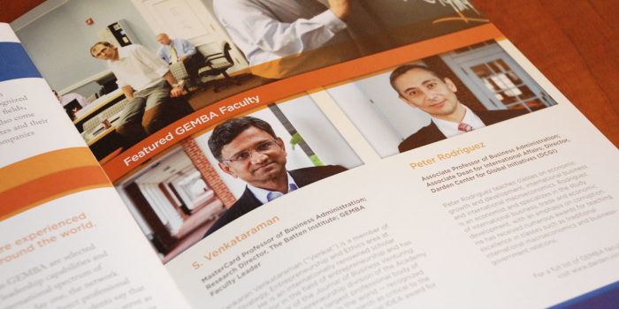 University of Virginia Darden School of Business <h2>Brochure</h2>