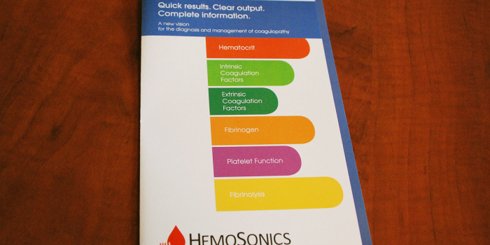 HemoSonics <h2>Brochure</h2>