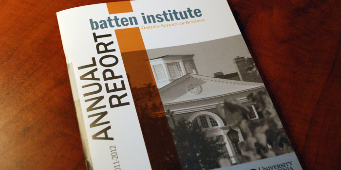 Batten Institute <h2>Annual Report</h2>