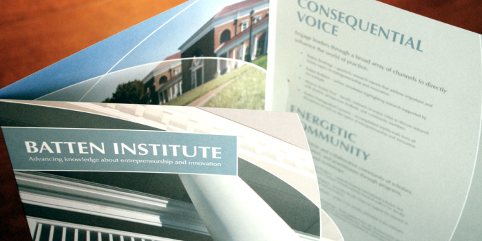 Batten Institute <h2>Brochure Folder</h2>