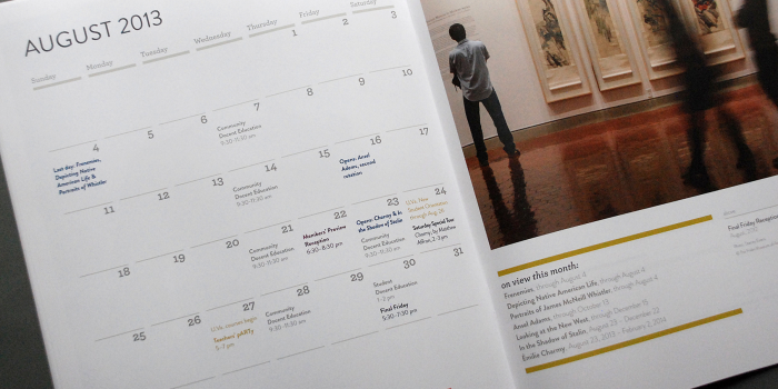 The Fralin Museum of Art <h2>Exhibitions and Events Calendar Fall 2013</h2>