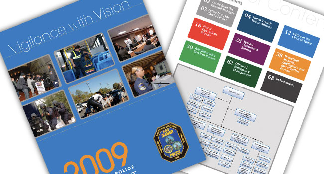 DC Metro Police <h2>Annual Report</h2>