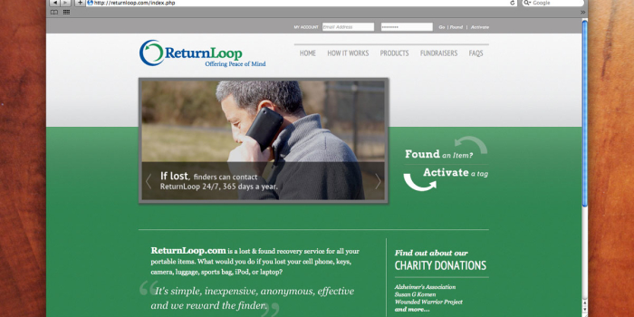 Return Loop <h2>Website</h2>